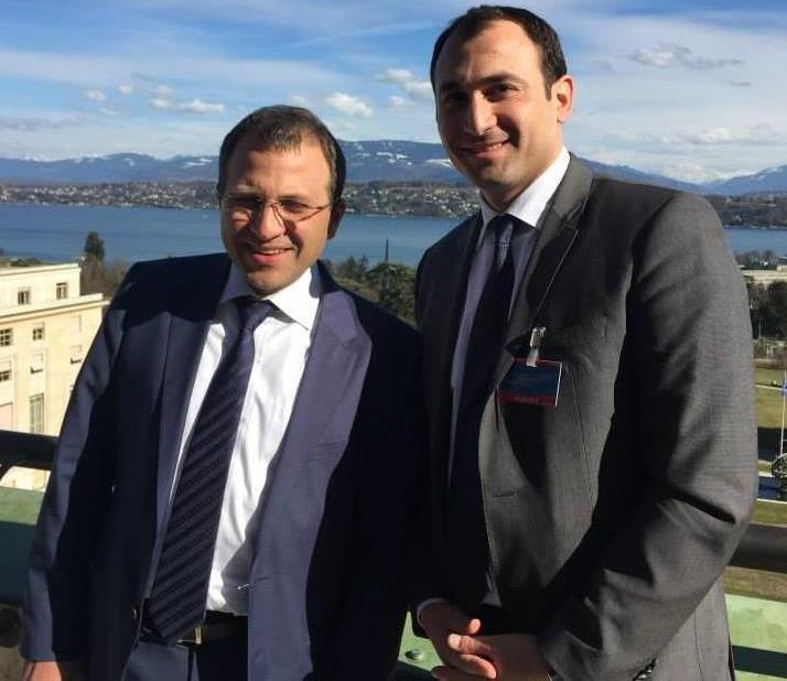 زيارة معالي وزير الخارجيّة والمغتربين الأستاذ جبران باسيل إلى سويسرا