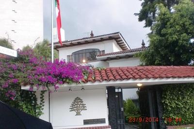 EMBAJADA DEL LIBANO EN MEXICO