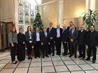 استقبل وزير الخارجية والمغتربين جبران باسيل مساء امس في مكتبه في الوزارة السفير فوق العادة الهنغاري بيتر هالتاي