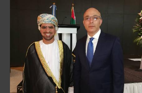 مع سعادة السفير الدكتور خالد الجرادي
