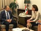 التقى وزير الخارجية والمغتربين جبران باسيل وزيرة الدولة للشؤون الخارجية في الاتحاد السويسري باسكال بيريسويل