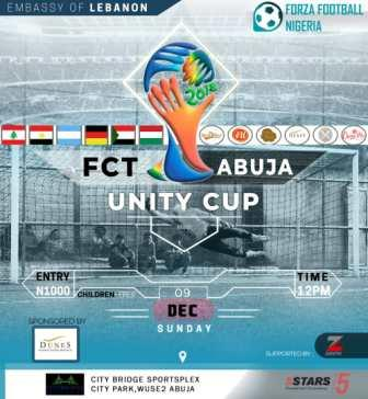 FCT Abuja Unity Cup 2018