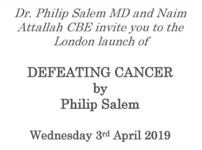 Defeating Cancer by Dr. Philip Salem