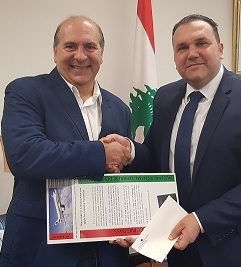 A draw was held on the 2nd of April for the first return ticket to Lebanon for those who applied to restore their Lebanese nationality.