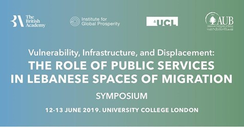 Symposium: Vulnerability, Infrastructure, and Displacement