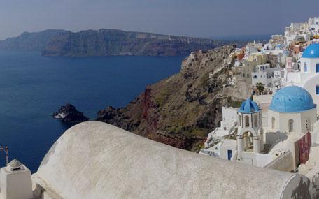 الوجهات السياحية في اليونان