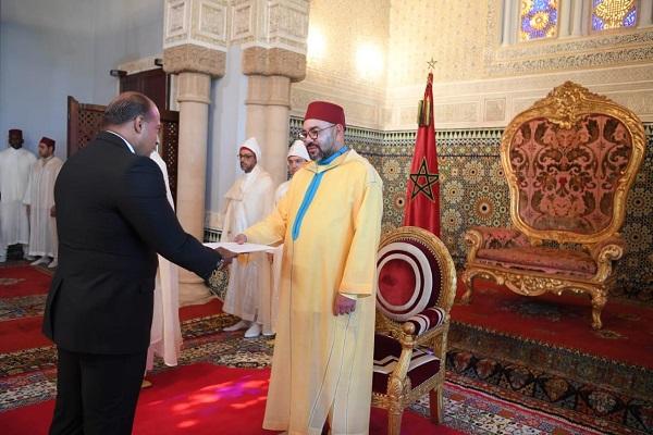 تقديم سفير لبنان أوراق اعتماده