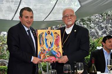 صور الوزير باسيل في مكسيكو