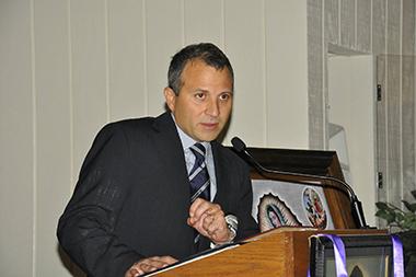 صور الوزير باسيل في نيفادا