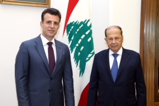 With His Excellency President Michel Aoun