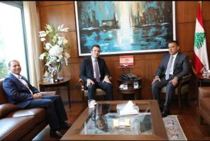 Ambassador Diab Visits Major General Abbas Ibrahim Director General of General Security in Lebanon