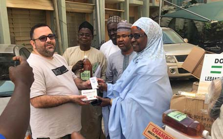 Lassa fever in Nigeria: The Lebanese Community Donates medical equipment, medication, sanitary and hygienic products