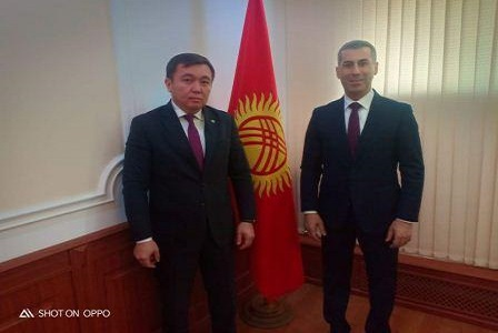 Meeting with Deputy Minister of Foreign Affairs of Kyrgyzstan HEM Nurlan Abdrakhmanov