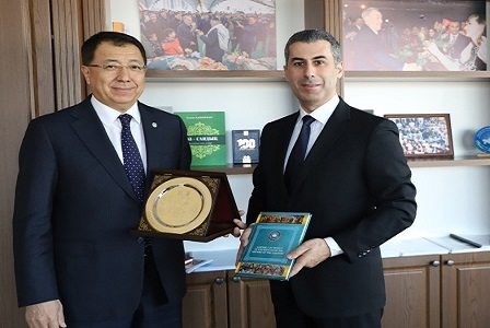 Meeting with Deputy Chairman of the Assembly of People of Kazakhstan Mr. Zhanseit Tuimebayev