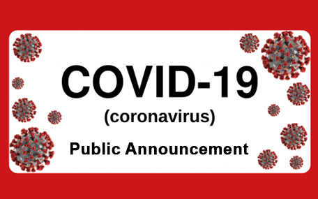 Public Announcement regarding the Coronavirus situation